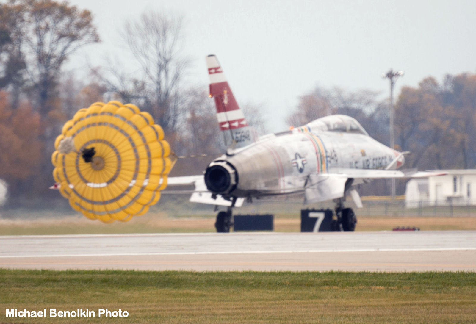 F-100F Super Sabre Autumn 2015 Flight Image 31