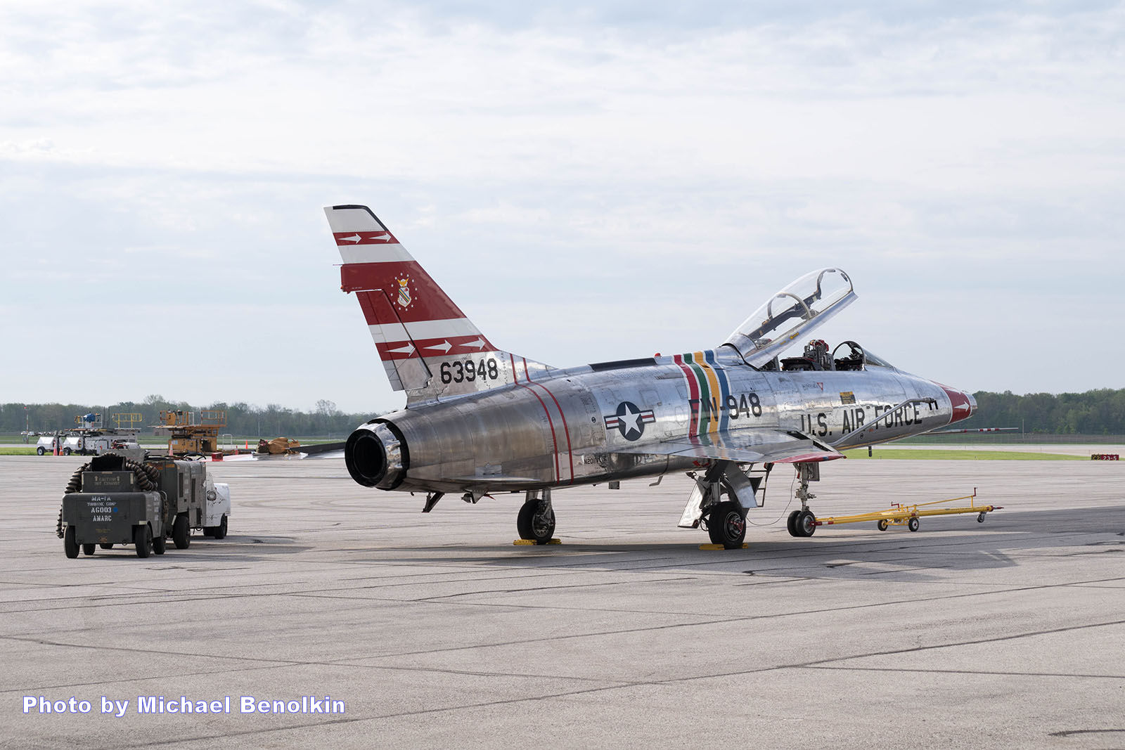 F-100 Veterans Flight Week 2016 Photo 001