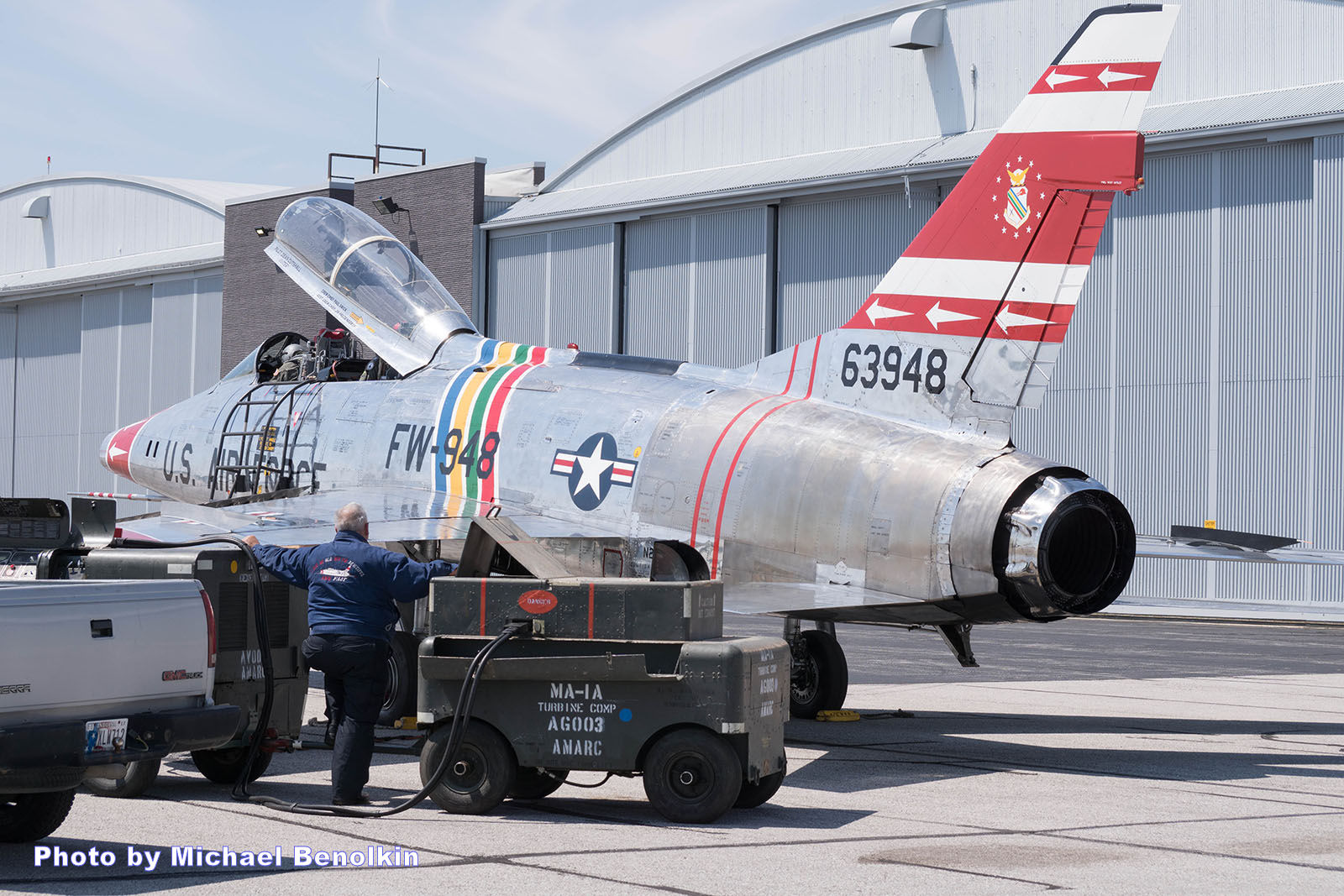 F-100 Veterans Flight Week 2016 Photo 019