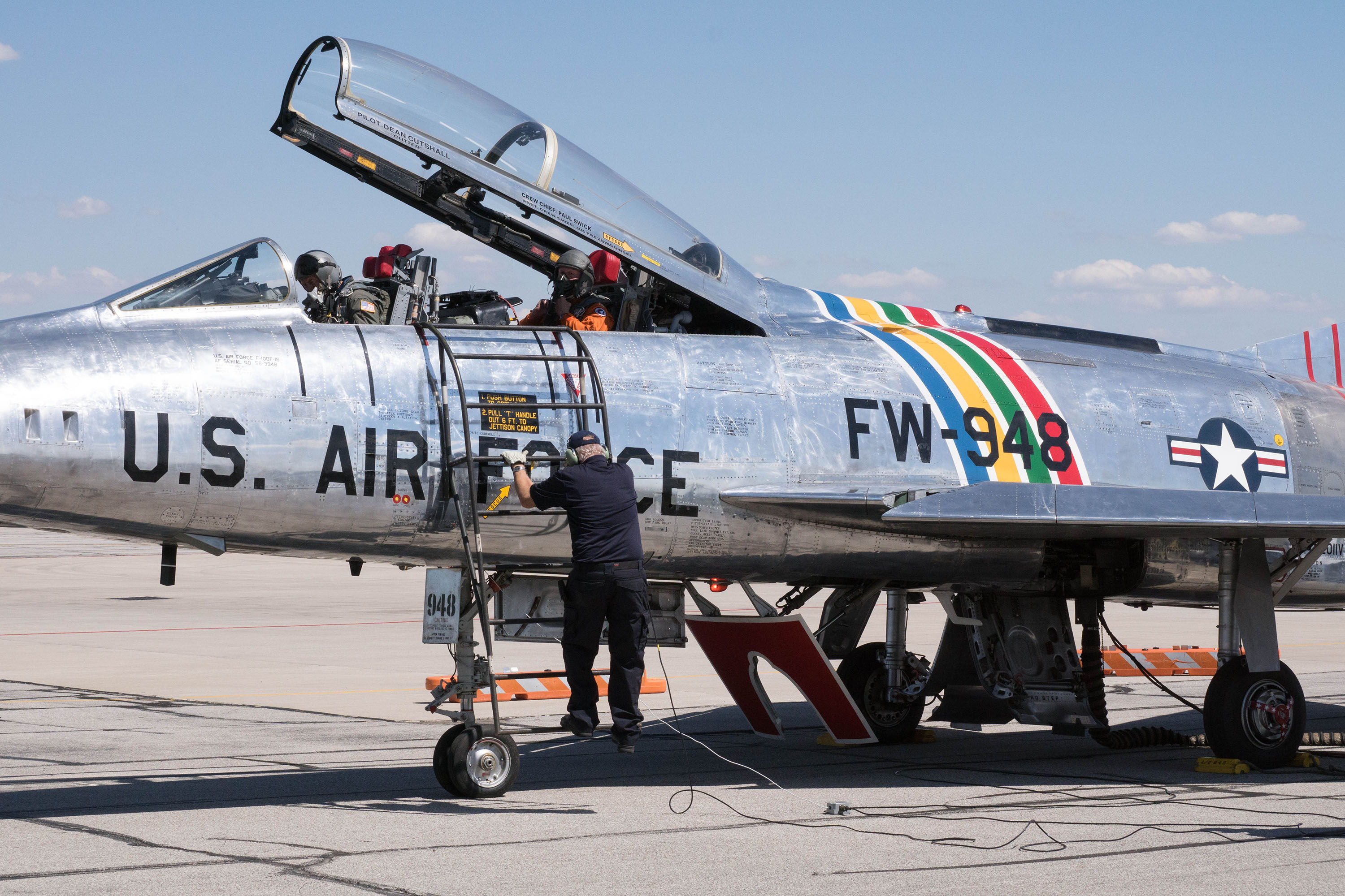 F-100 Veterans Flight Week 2016 Photo 069