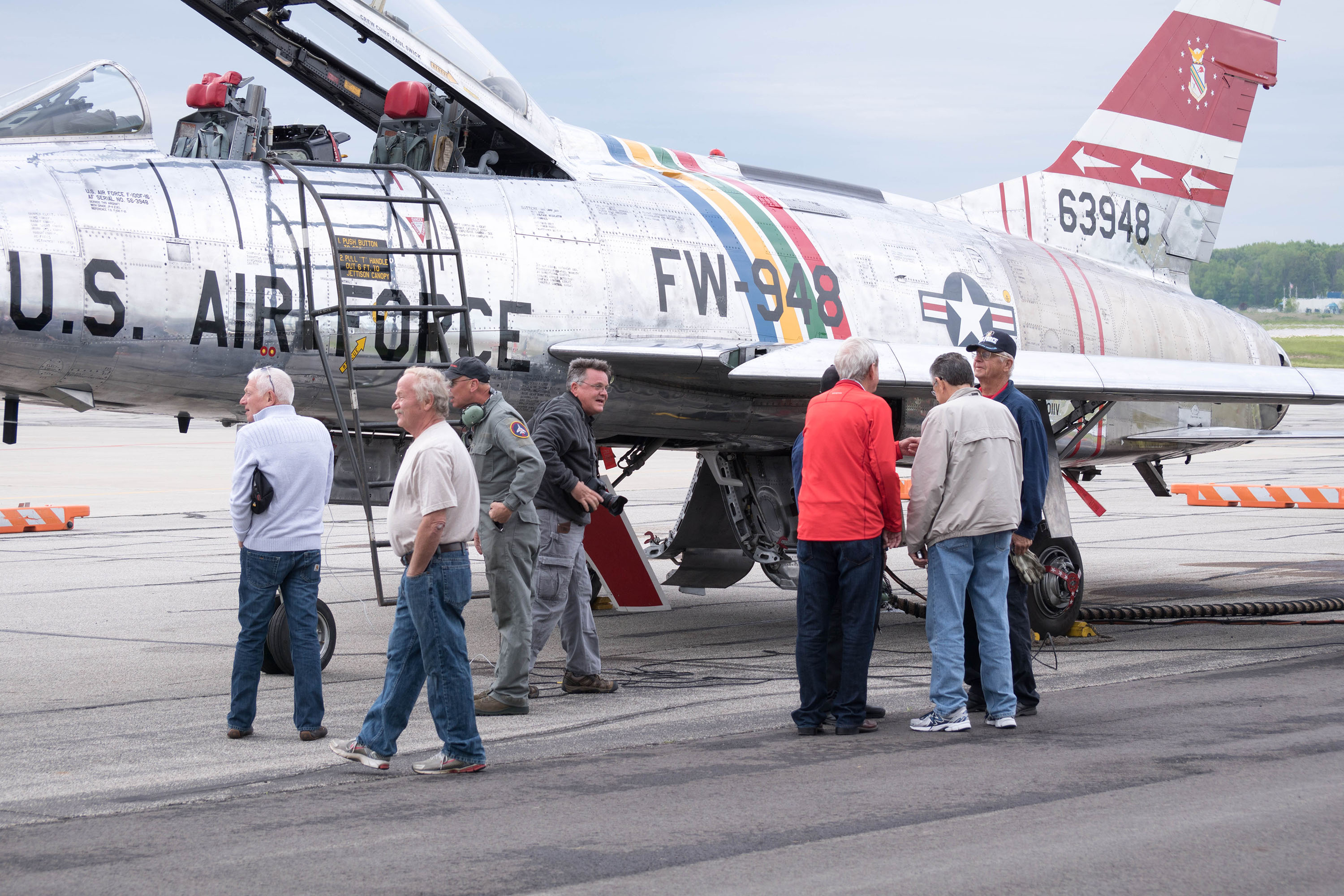 F-100 Veterans Flight Week 2016 Photo 162